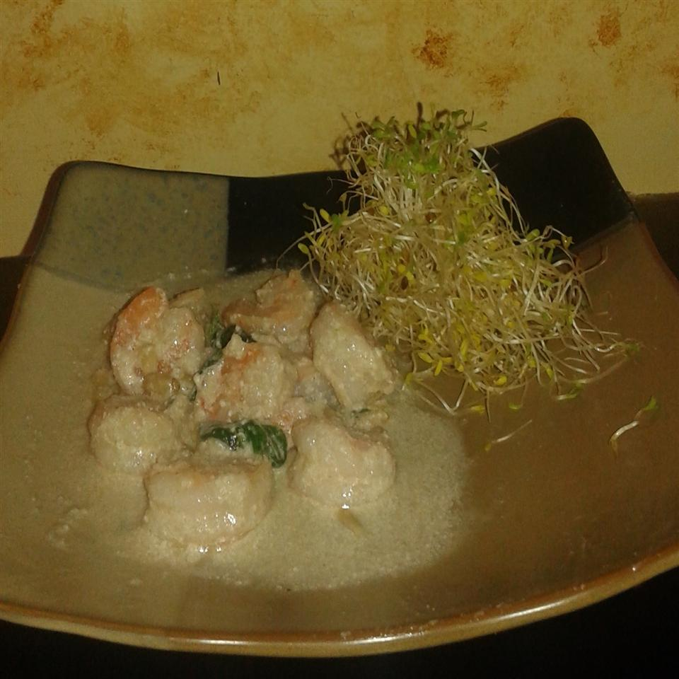 Low-Carb Creamy Coconut Shrimp