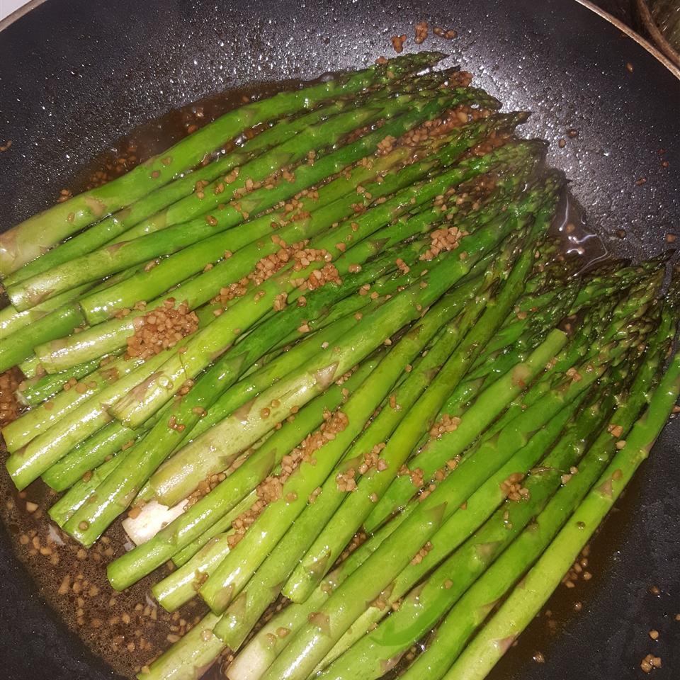 Grilled Soy-Sesame Asparagus Lorraine Garcia