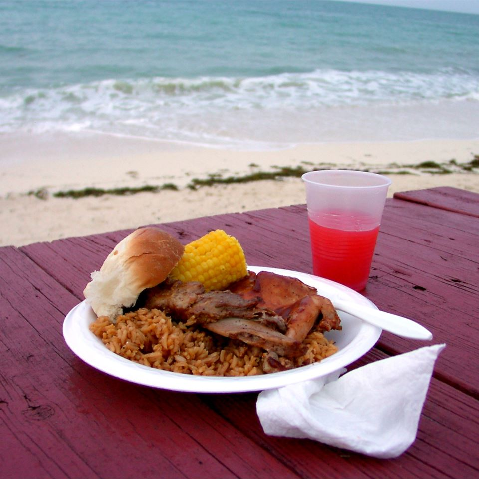 Bahamian Style Peas and Rice Monte