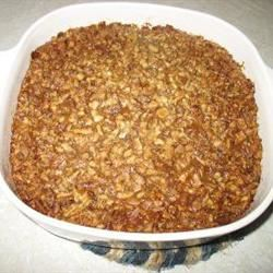 Yummy Yam Casserole kcbarbie