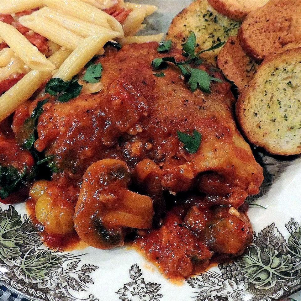 Chicken Cacciatore from Swanson® Peggi Weaver Tebben