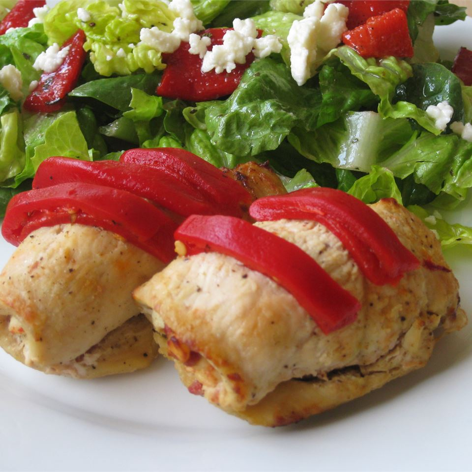 Feta and Sun-Dried Tomato Stuffed Chicken Alyssa