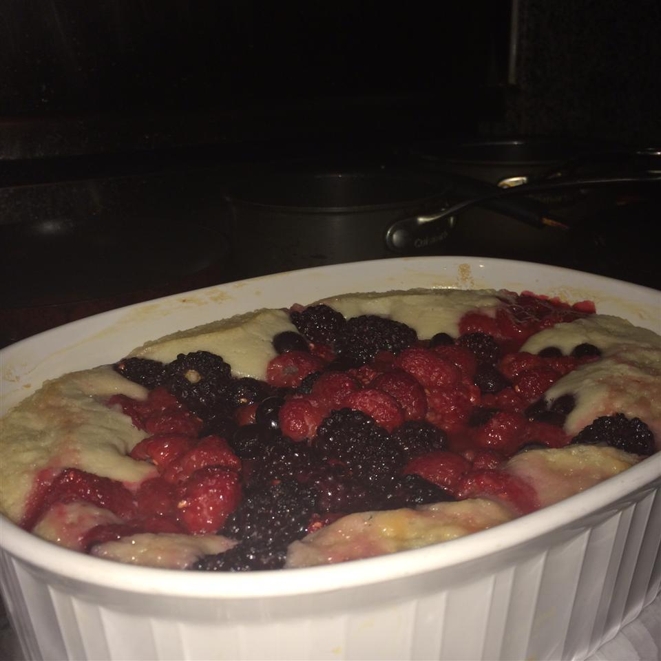 Raspberry and Blueberry Cobbler Megan M.