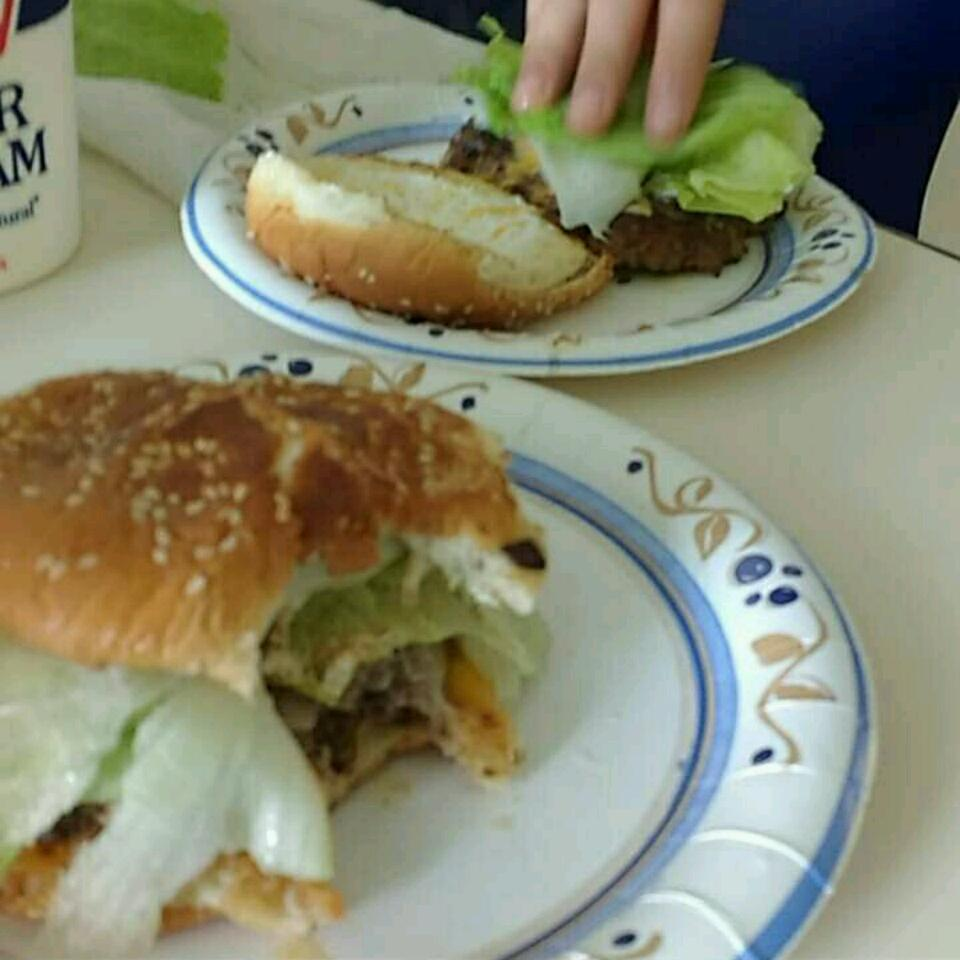 Bacon Cheeseburgers b-man