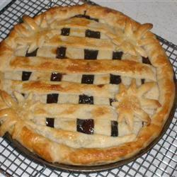 Blueberry Cherry Pie