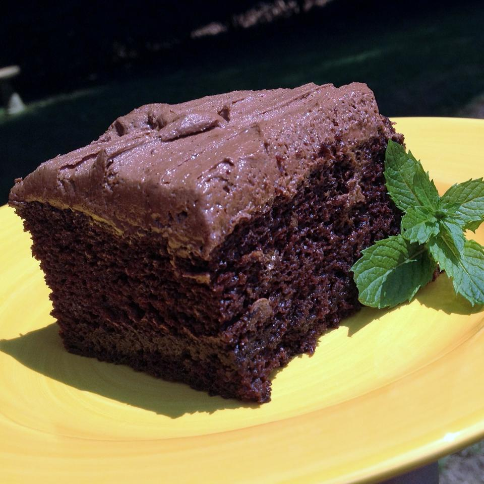 Chocolate Mocha Cake I Lori