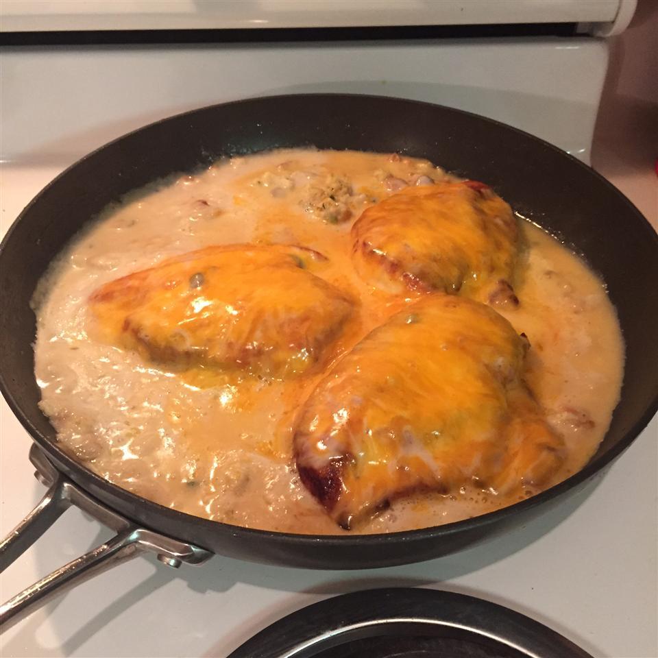 Chicken and Stuffing Skillet Regina Funk