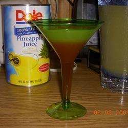 Pineapple Upside-down Cake Martinis K-Dub