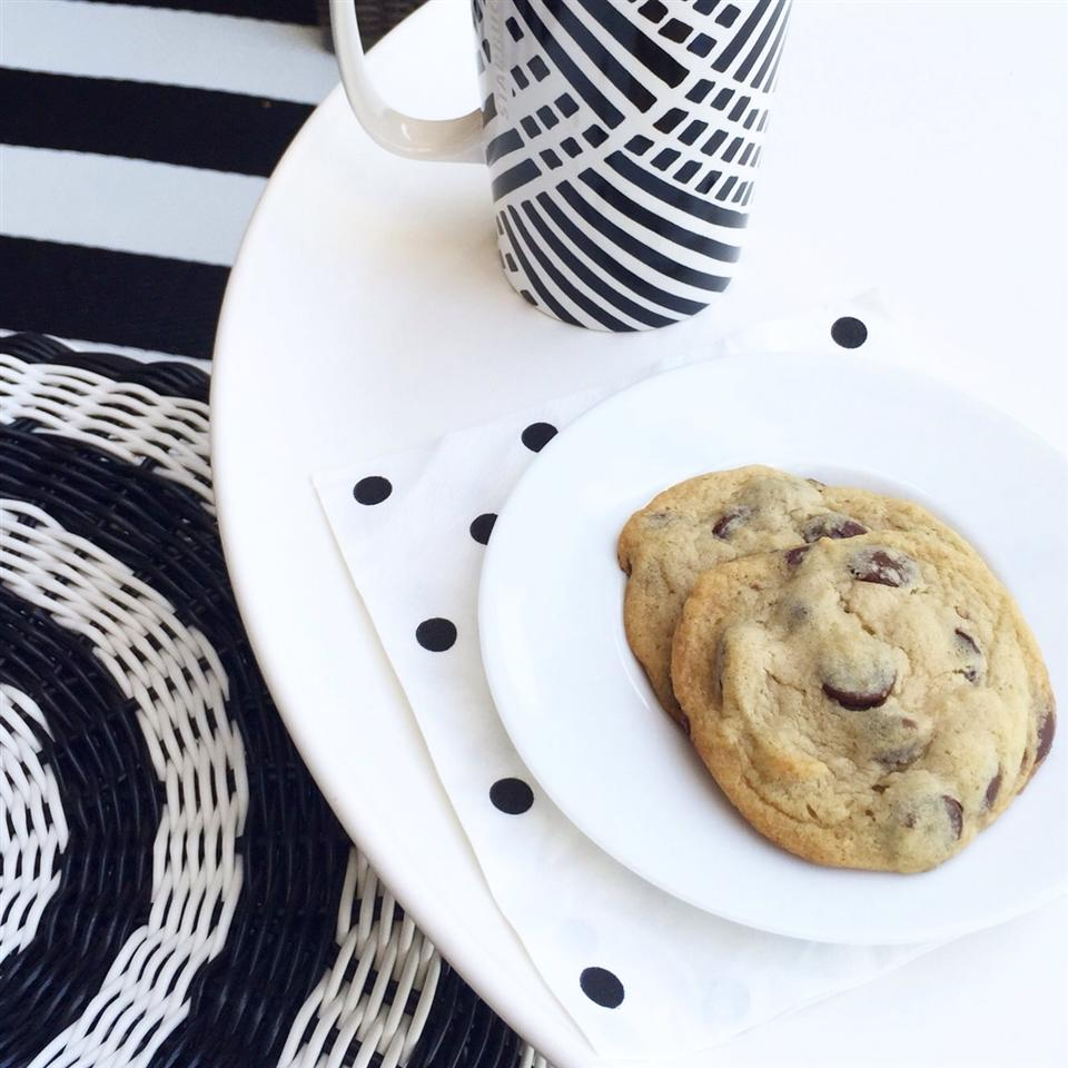 Light and Fluffy Chocolate Chip Cookies