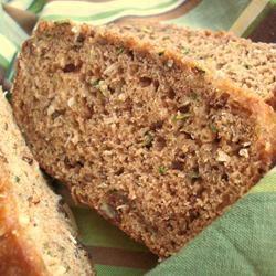 Caribbean Zucchini Bread
