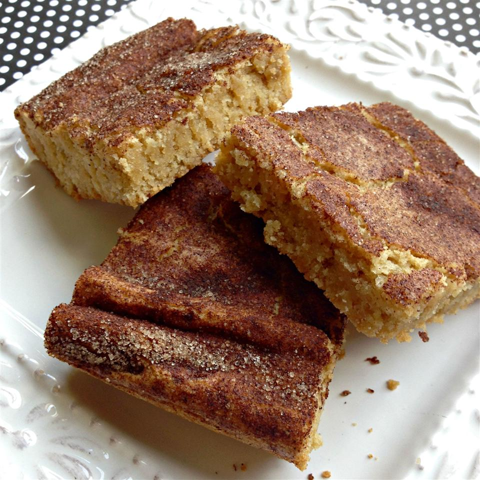 Snickerdoodle Blondies Kim's Cooking Now
