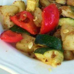 Zucchini and Potato Bake ONIOND