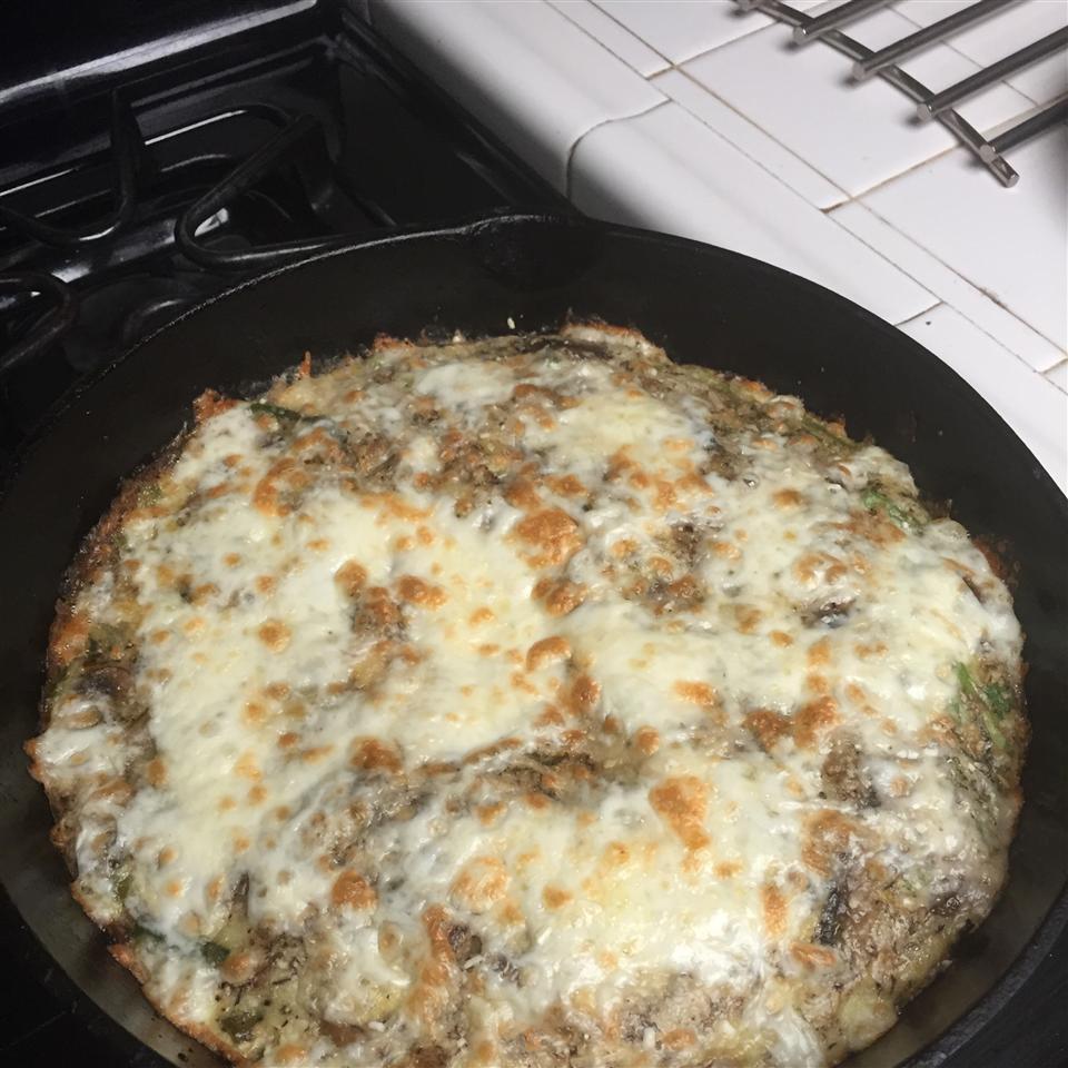 Asparagus and Mushroom Frittata kilah1