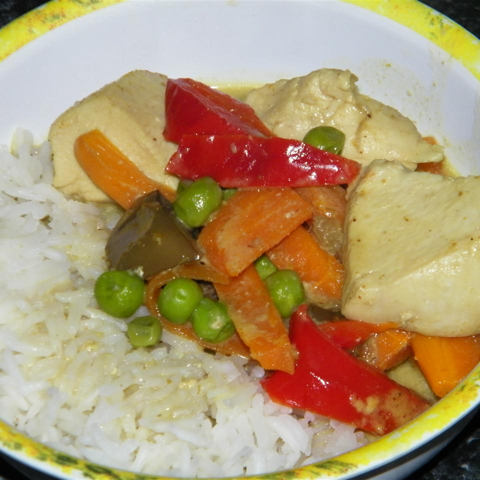Thai Chicken Curry with Pineapple Seattle2Sydney