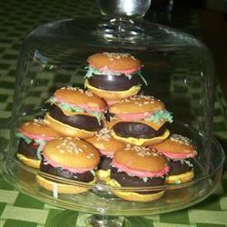 No Bake Deluxe Hamburger Cookies Lani Wilborn