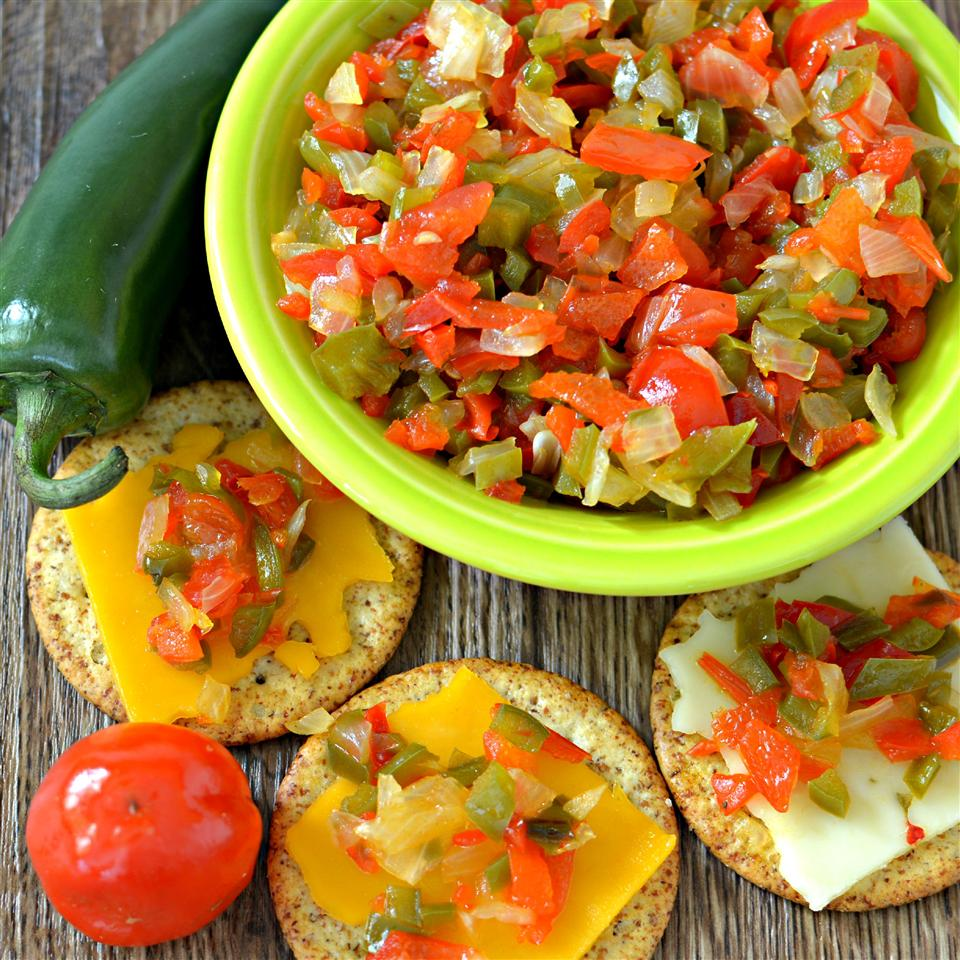 Quick Pickled Pepper Onion Relish