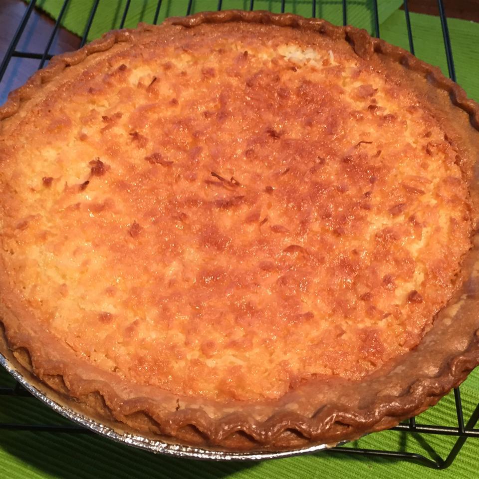 Coconut Custard Pie I Karen N