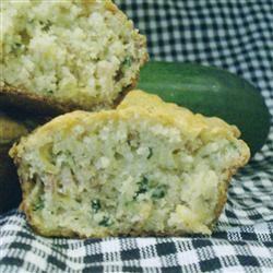 Savory Cheddar Zucchini Muffins Pam Ziegler Lutz