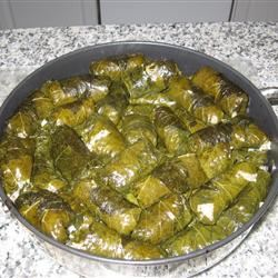 My Own Famous Stuffed Grape Leaves