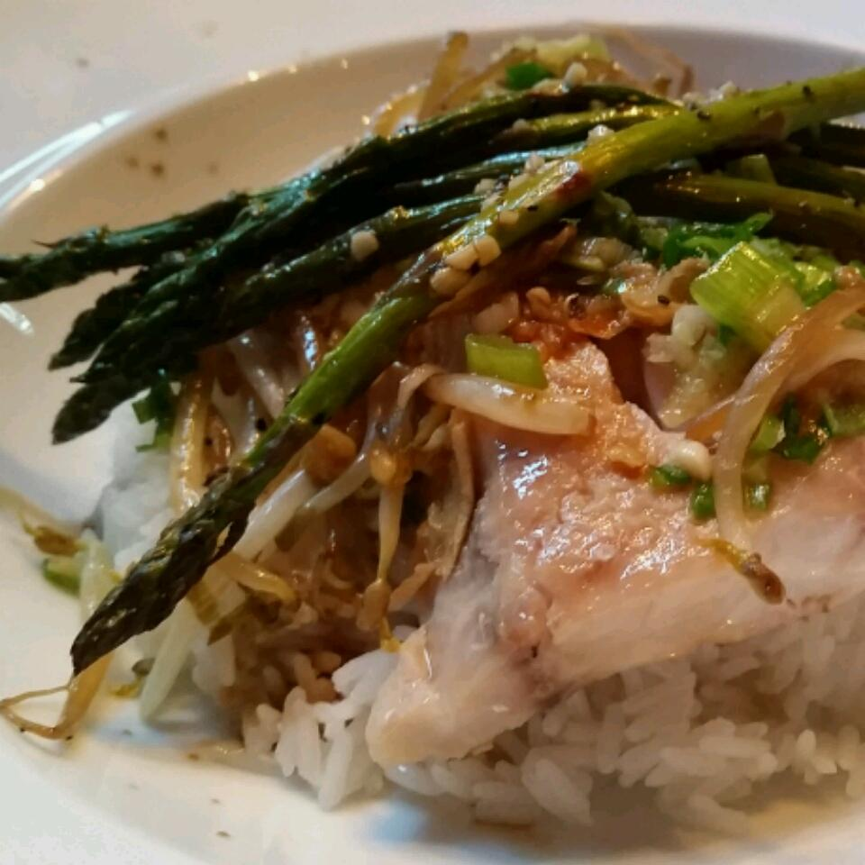 Steamed Fish with Ginger David West