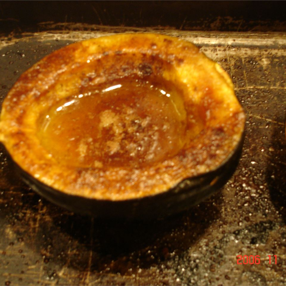 Baked Acorn Squash Claire