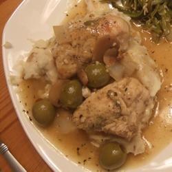 Easy Olive Martini Chicken Tina Pierson
