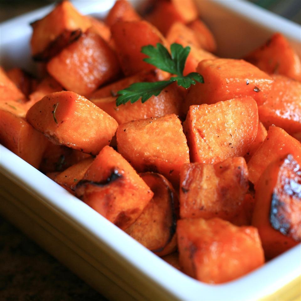 Honey and Rosemary Sweet Potatoes France C