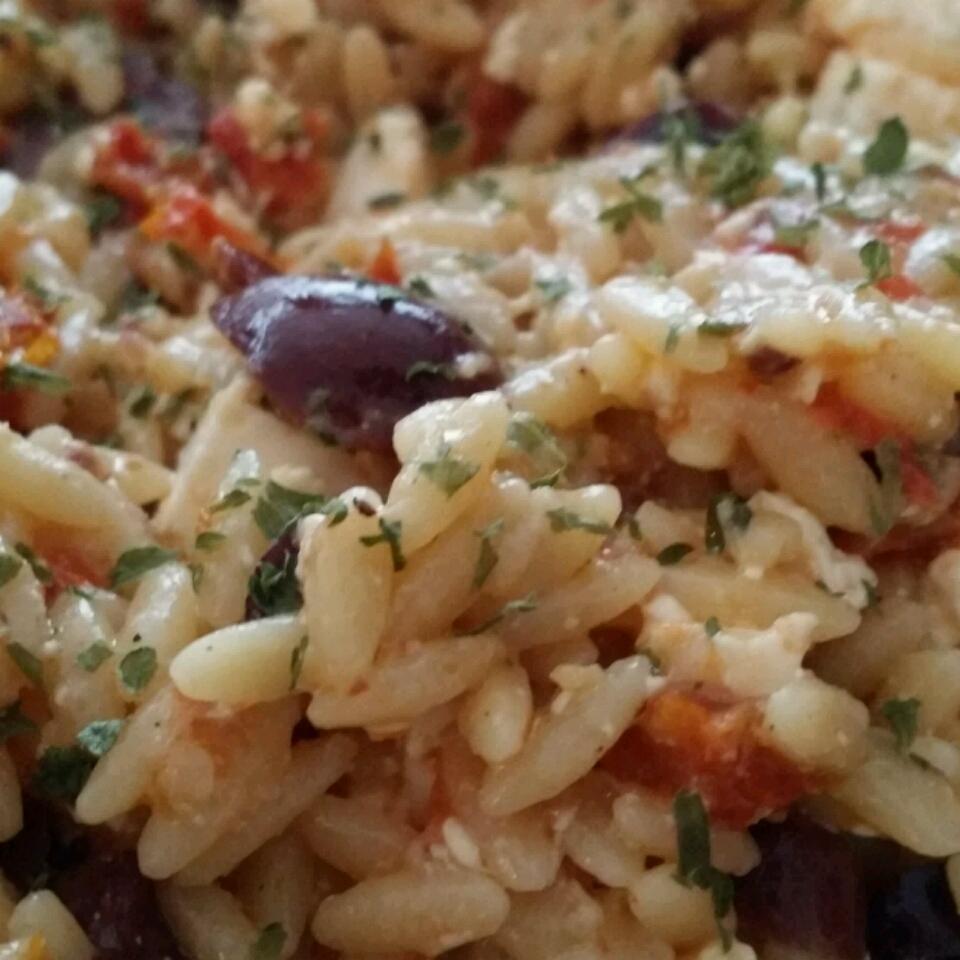 Orzo Pasta Salad JChandra