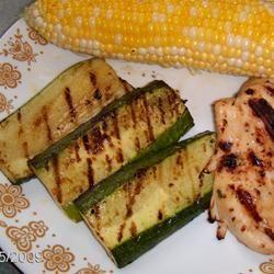 Grilled Zucchini II
