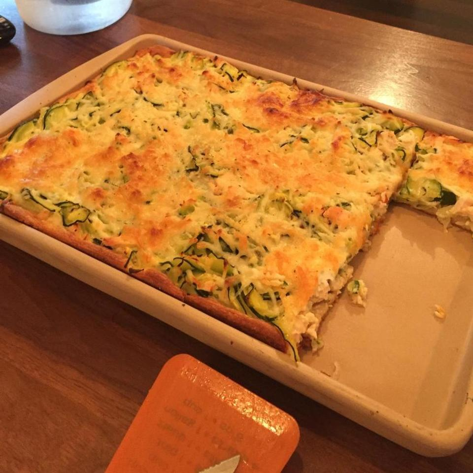 Chicken Zucchini Bake DebbieJoe