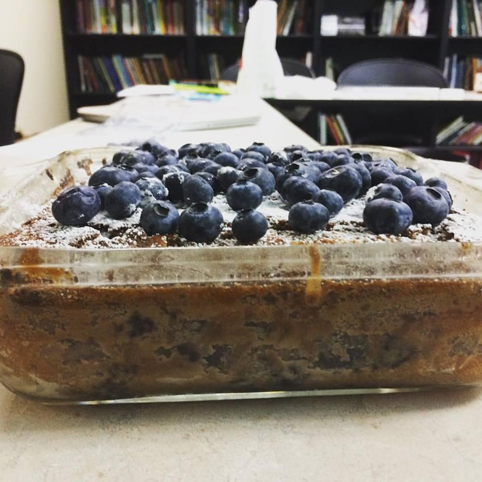 Cocoa Blueberry Cake LADYMAGE