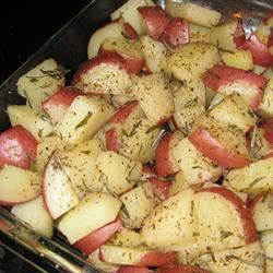 Bella's Rosemary Red Potatoes rainyroo
