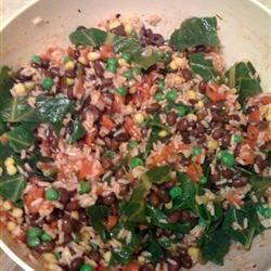 Brown Rice and Black Bean Salad Shelley