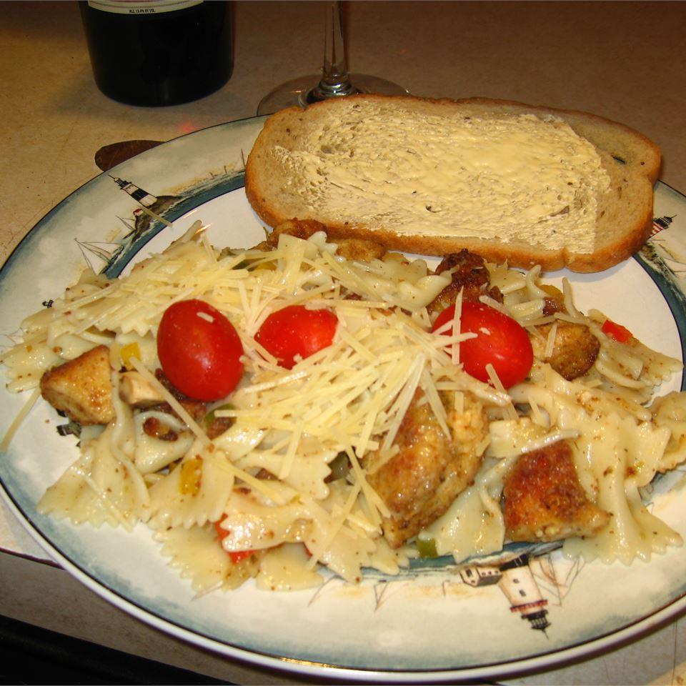 Chicken Pasta - Shannon Style lestoby