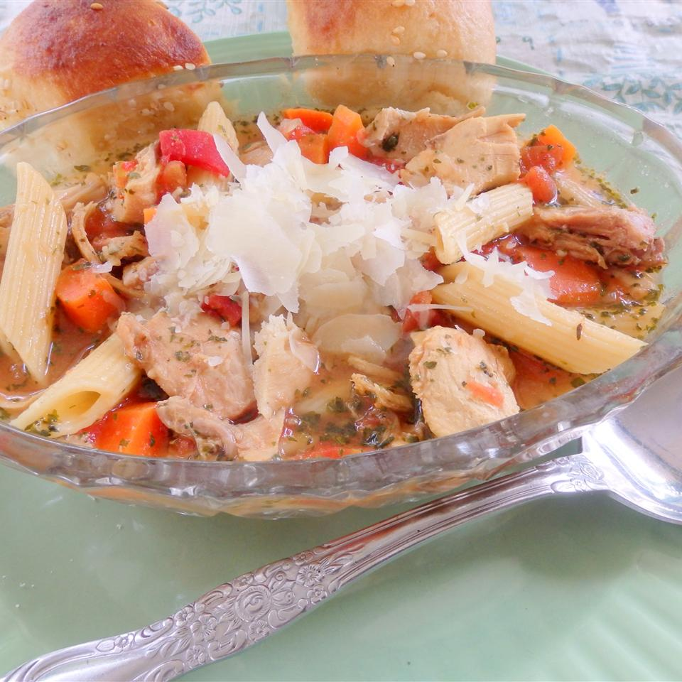 Italian-Style Chicken Noodle Soup Cindy Capps Lepp