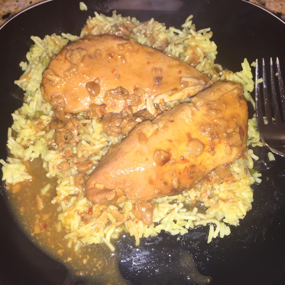 Easy Spicy Thai Slow Cooker Chicken tangen