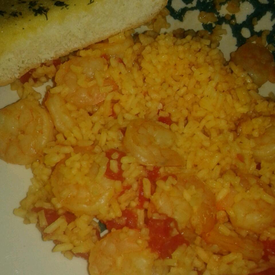 Shrimp Paella Amanda Seales