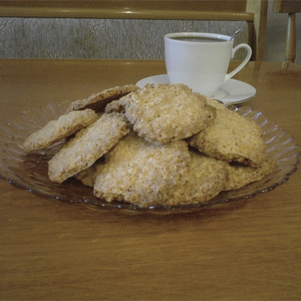 Oatmeal Coconut Thin Crisps