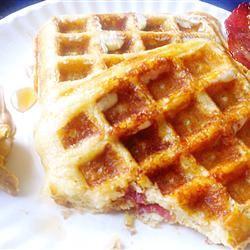 Brown Sugar Bacon Waffles Sugar High