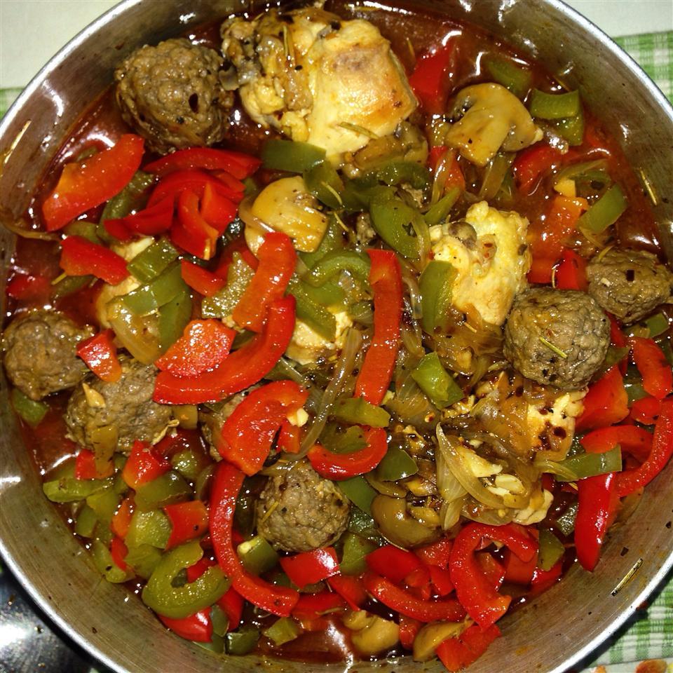 Chef John's Chicken Cacciatore Didi