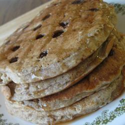 Whole Wheat, Oatmeal, and Banana Pancakes