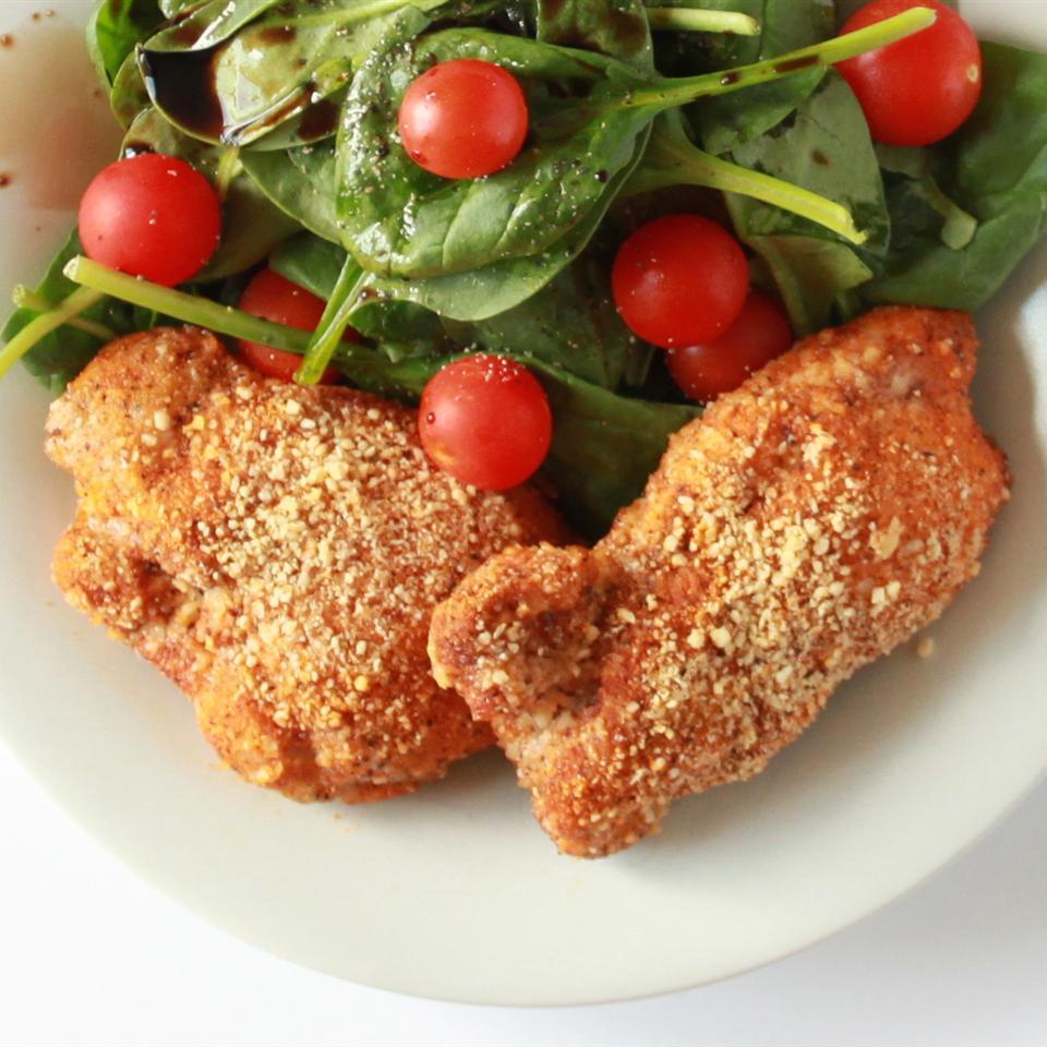 Gluten-Free Shake and Bake Almond Chicken Mackenzie Schieck