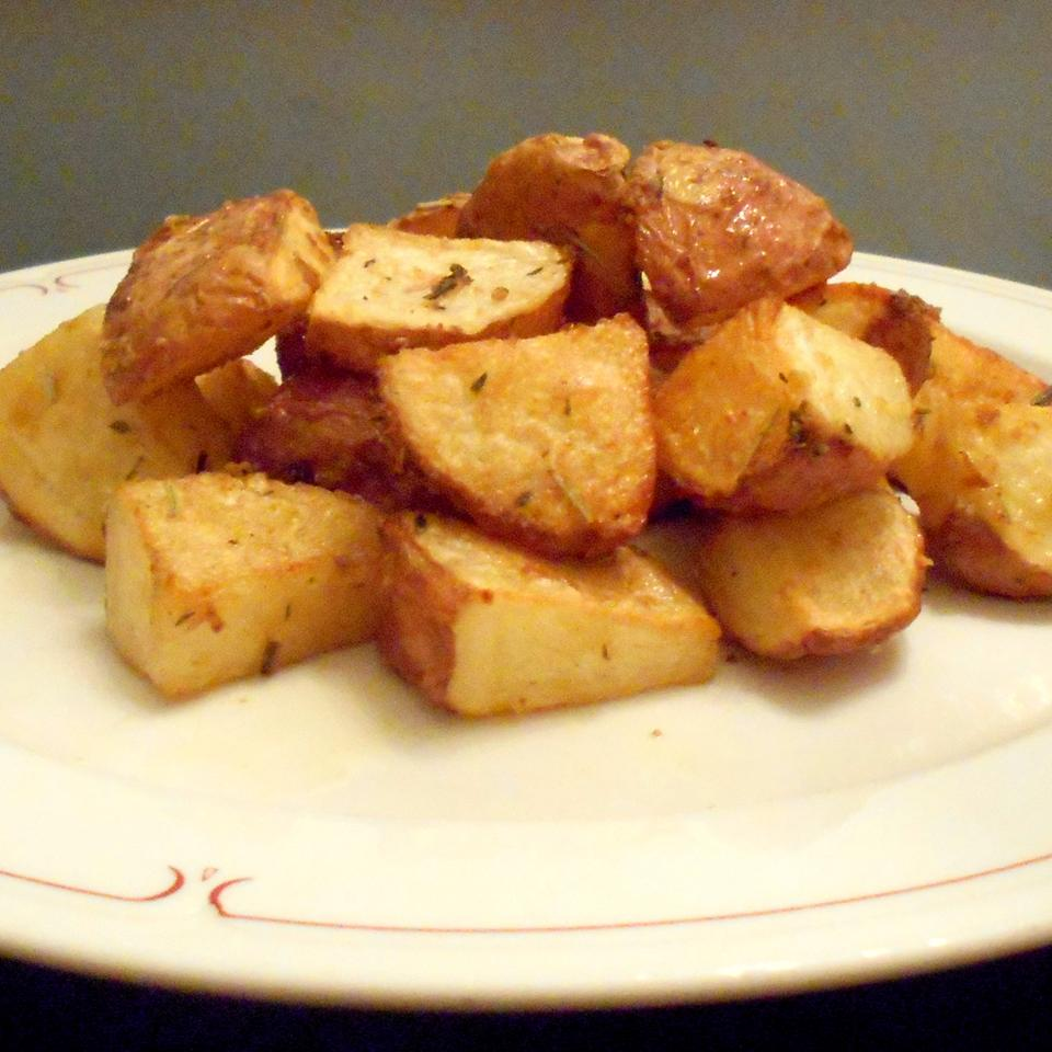 Dijon Roasted Potatoes ONIOND