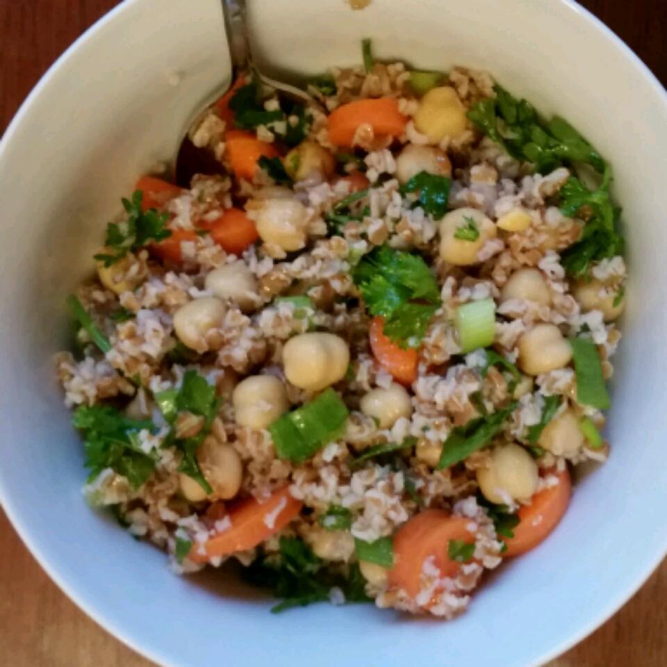 Bulgur Chickpea Salad NIBLETS