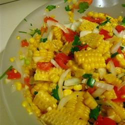 Corn, Sweet Onion, and Tomato Salad emmae