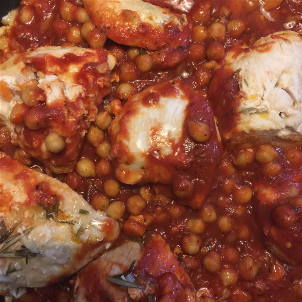 Italian Chicken and Chickpeas Brittany Tan