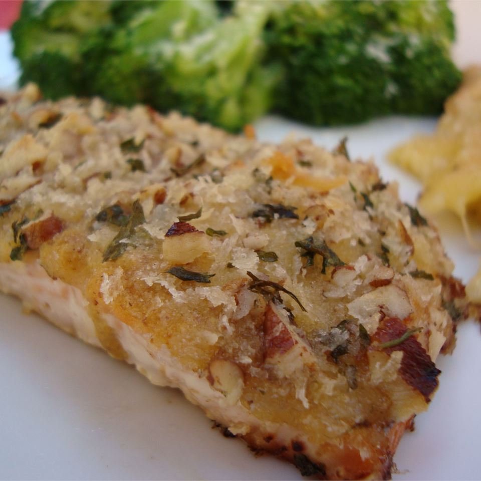Baked Dijon Salmon Angela F.