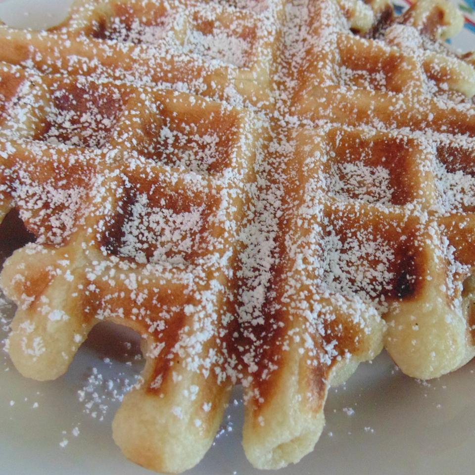 Funnel Cake Waffles Christina