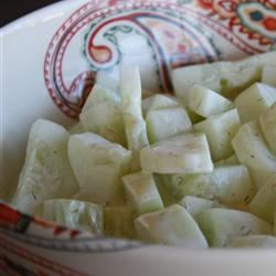 Mom's Cucumber Salad user