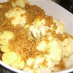 Baked Whole Cauliflower Melissa Wilson Martin